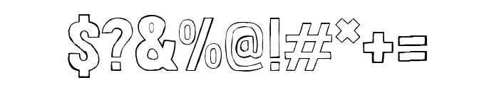 Londrina Sketch regular Font OTHER CHARS