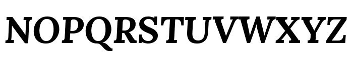Lora 700italic Font UPPERCASE