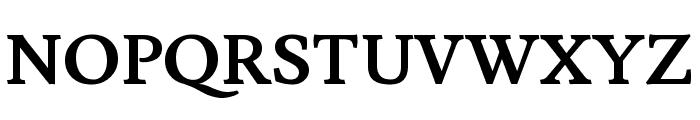 Lusitana 700 Font UPPERCASE