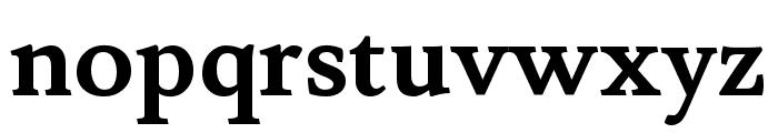 Lusitana 700 Font LOWERCASE