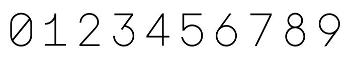 Major Mono Display regular Font OTHER CHARS