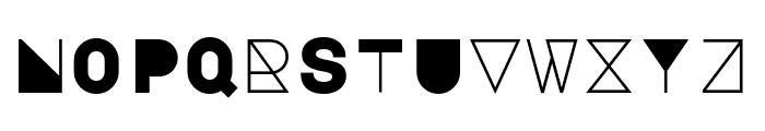 Major Mono Display regular Font UPPERCASE