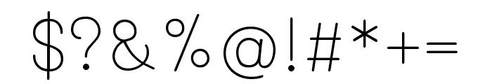 Mali 200 Font OTHER CHARS