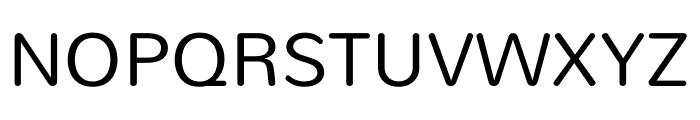 Mandali regular Font UPPERCASE