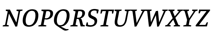 Manuale 500italic Font UPPERCASE
