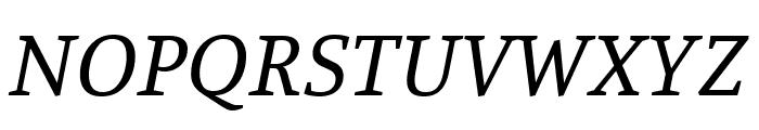 Manuale italic Font UPPERCASE