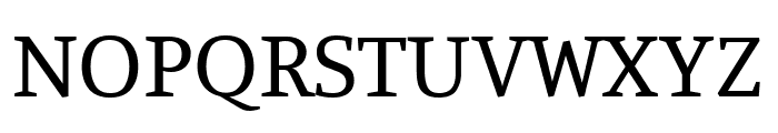 Manuale regular Font UPPERCASE