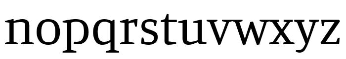 Manuale regular Font LOWERCASE