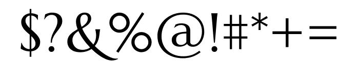 Marcellus regular Font OTHER CHARS
