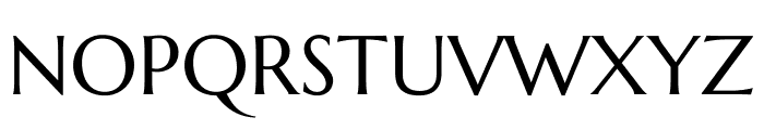 Marcellus regular Font UPPERCASE