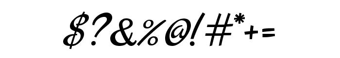 Marck Script regular Font OTHER CHARS