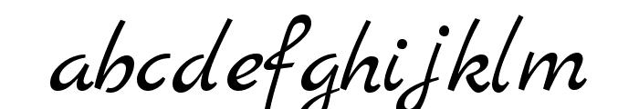 Marck Script regular Font LOWERCASE