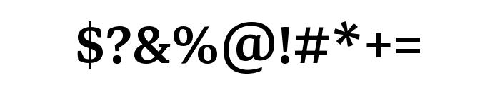 Markazi Text 500 Font OTHER CHARS