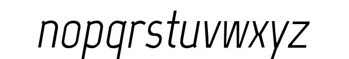 Marvel italic Font LOWERCASE