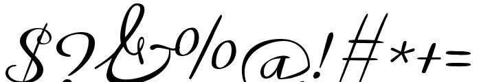 Meddon regular Font OTHER CHARS