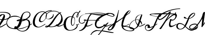 Meddon regular Font UPPERCASE