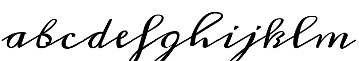 Meddon regular Font LOWERCASE