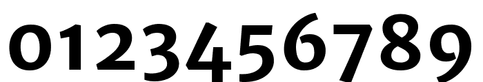 Merriweather Sans 700 Font OTHER CHARS