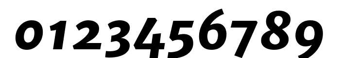 Merriweather Sans 800italic Font OTHER CHARS
