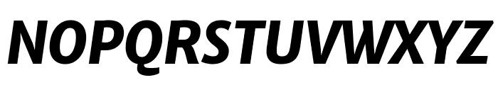 Merriweather Sans 800italic Font UPPERCASE