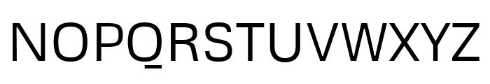 Metrophobic regular Font UPPERCASE