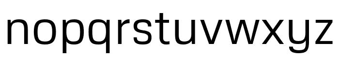 Metrophobic regular Font LOWERCASE