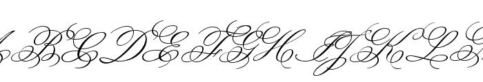 Monsieur La Doulaise regular Font UPPERCASE