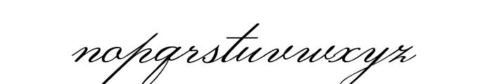 Monsieur La Doulaise regular Font LOWERCASE