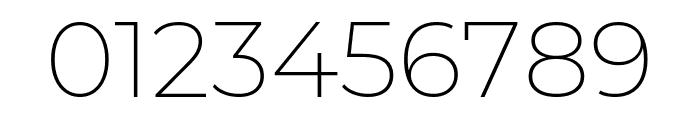Montserrat 200 Font OTHER CHARS