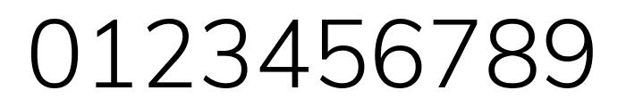 Muli 300 Font OTHER CHARS