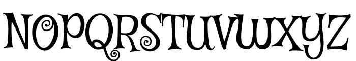 Mystery Quest regular Font UPPERCASE