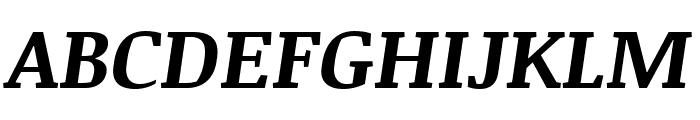 Noticia Text 700italic Font UPPERCASE