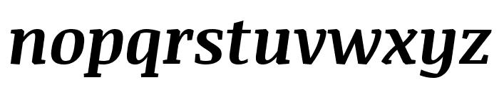 Noticia Text 700italic Font LOWERCASE