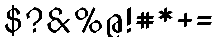 Nova Cut regular Font OTHER CHARS