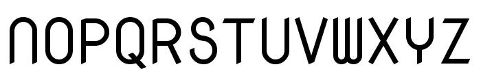 Nova Mono regular Font UPPERCASE
