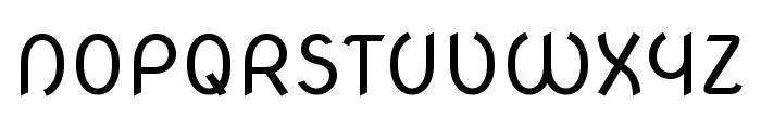 Nova Oval regular Font UPPERCASE