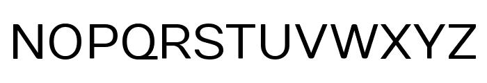 Numans regular Font UPPERCASE