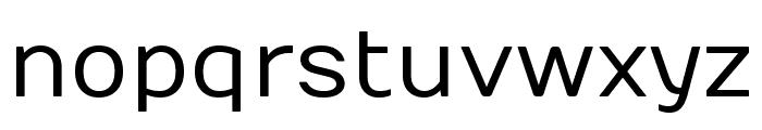 Numans regular Font LOWERCASE