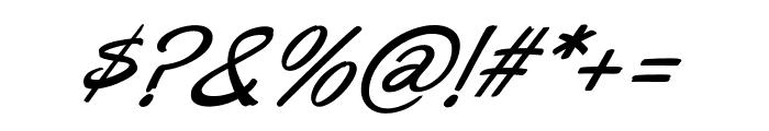 Oregano italic Font OTHER CHARS