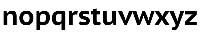 PT Sans Caption 700 Font LOWERCASE