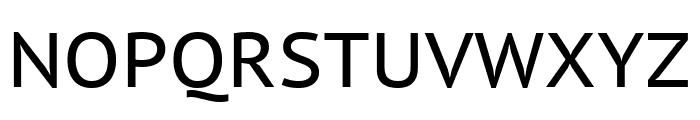 PT Sans Caption regular Font UPPERCASE