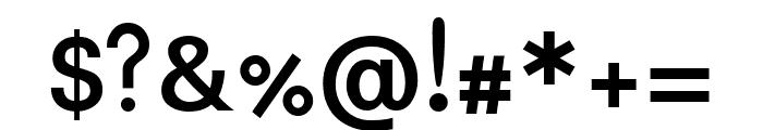 Padauk 700 Font OTHER CHARS