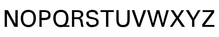 Padauk regular Font UPPERCASE