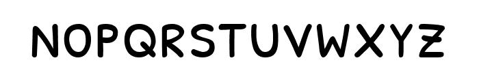 Patrick Hand SC regular Font LOWERCASE
