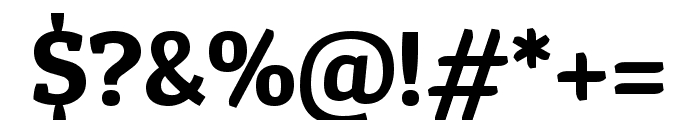Patua One regular Font OTHER CHARS