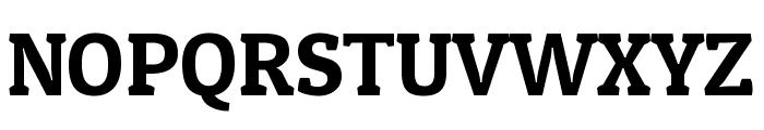 Patua One regular Font UPPERCASE