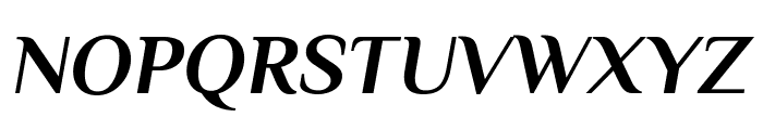 Philosopher 700italic Font UPPERCASE