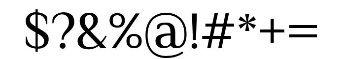 Philosopher regular Font OTHER CHARS