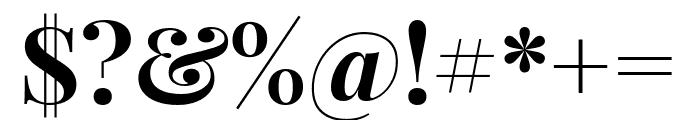 Playfair Display 700 Font OTHER CHARS