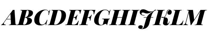 Playfair Display 900italic Font UPPERCASE